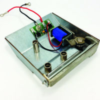Electronic lock with solenoid