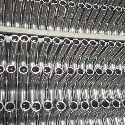 Massaproductie van onderdelen in inox of RVS