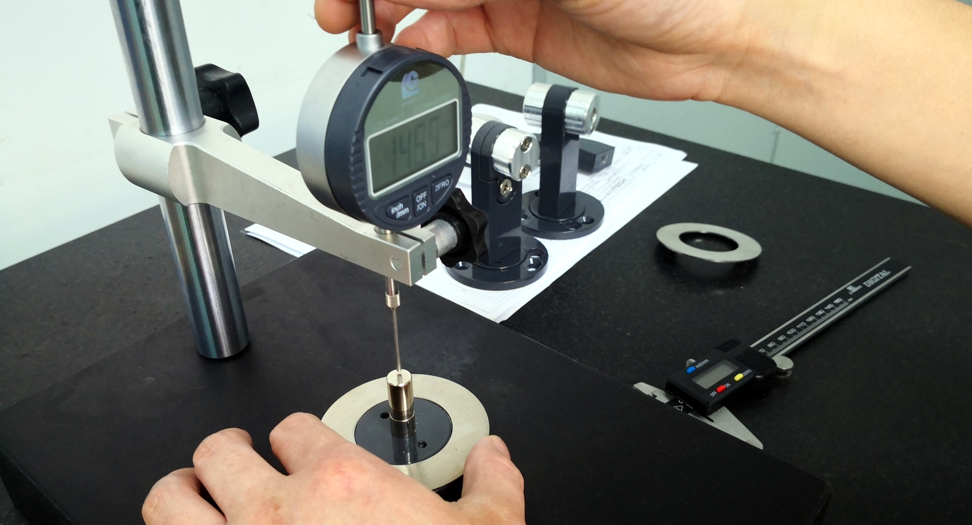 Metron Technics kwaliteitscontrole van productie