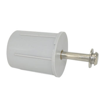 plastic and metal assembly roller blind end cap