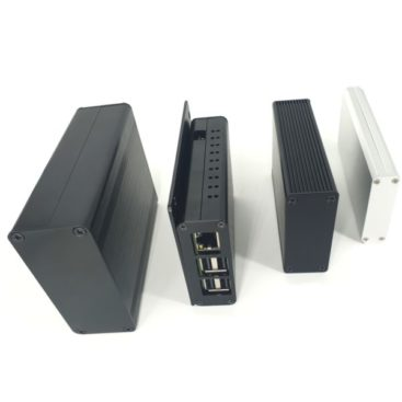 Extruded aluminum enclosures
