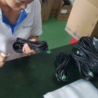 Elektrische kabels laten produceren door Belgen in China