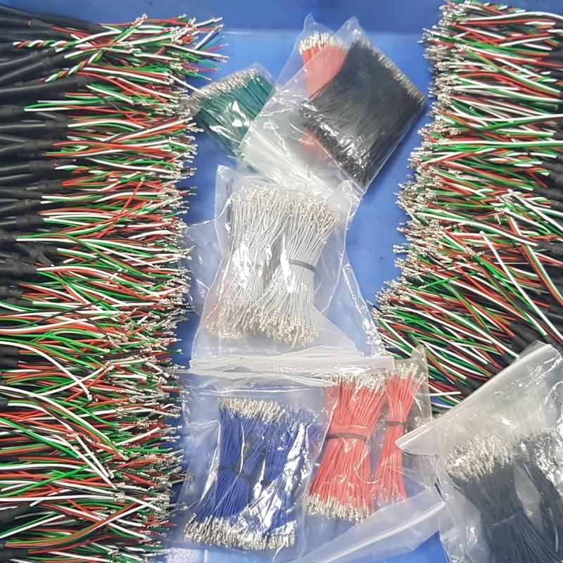 aanmaken van elektrische kabels op lengte