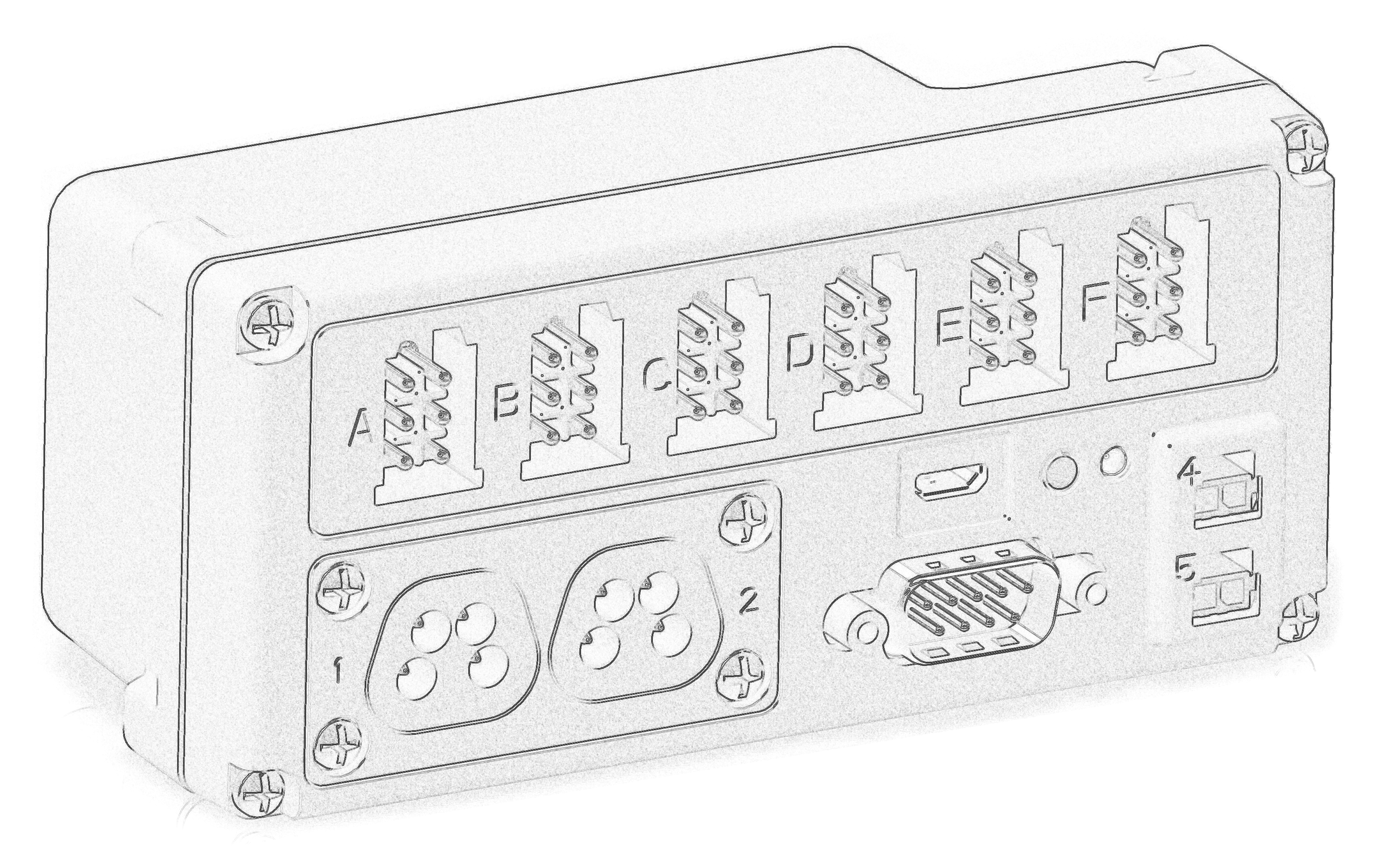 Productdesign van een kunststof behuizing voor elektronica