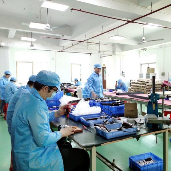Productie en assemblage van producten op maat in China