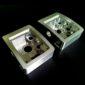 CNC high speed frezen van aluminium onderdeel met gebogen oppervlak