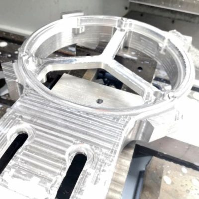 Aluminium prototype frezen of verspanen