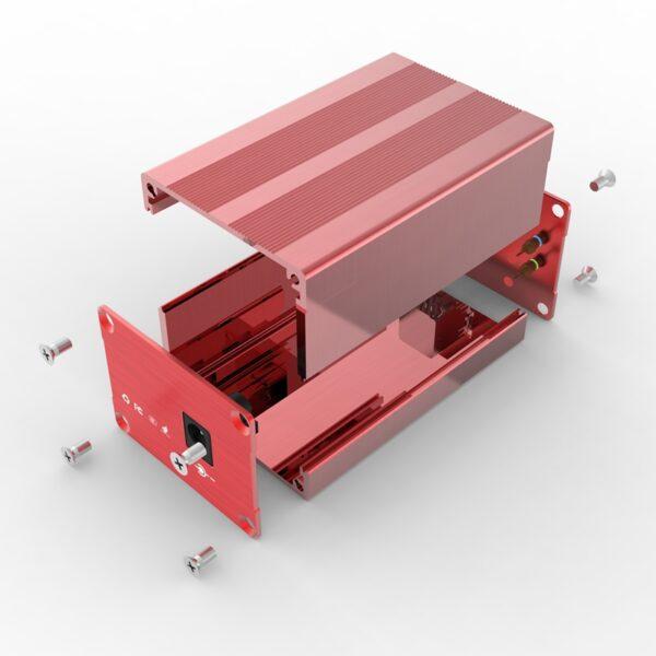 D1001433 – Elektronicabehuizing uit aluminium