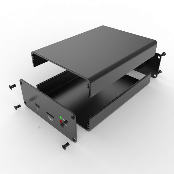 D1001438 – Aluminium behuizing 88W38H100L assemblage