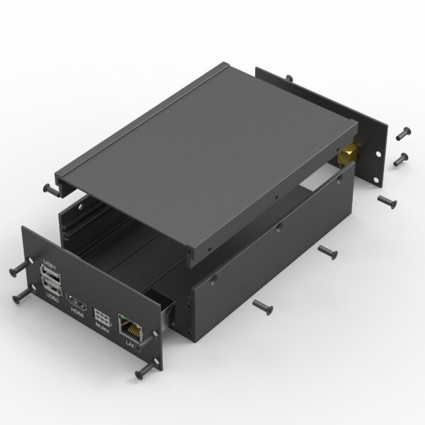 Assemblage kit aluminium behuizing voor elektronica