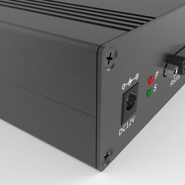 detail van een elektronicabehuizing op maat