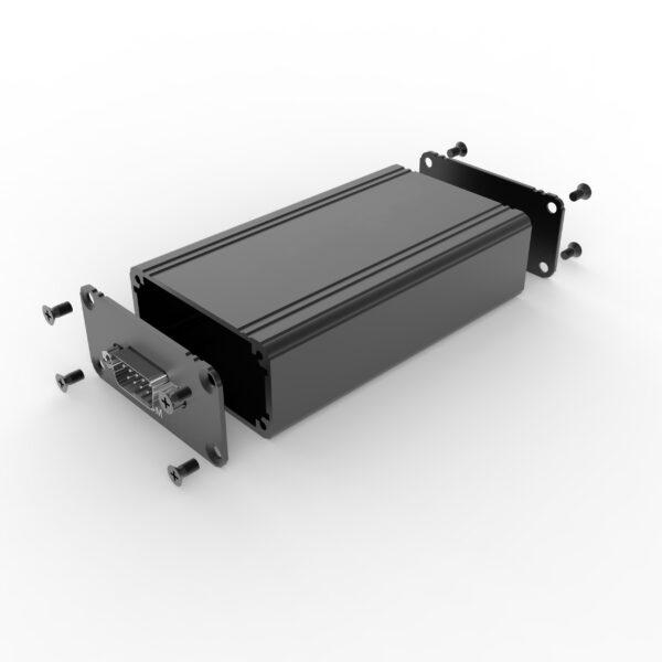 D1001451 – Behuizing bestaande uit geëxtrudeerde koker 57B28H100L assemblage