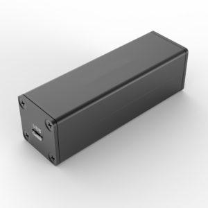 D1001431 – Aluminium behuizing voor elektronica afmetingen 25B25H80L