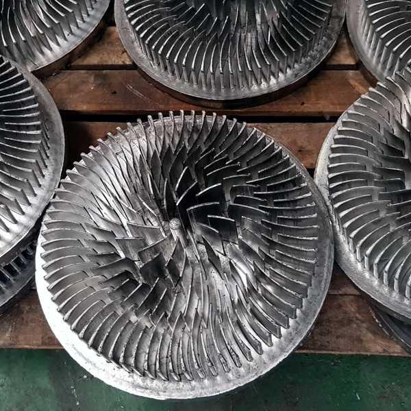 persen van aluminium onderdelen