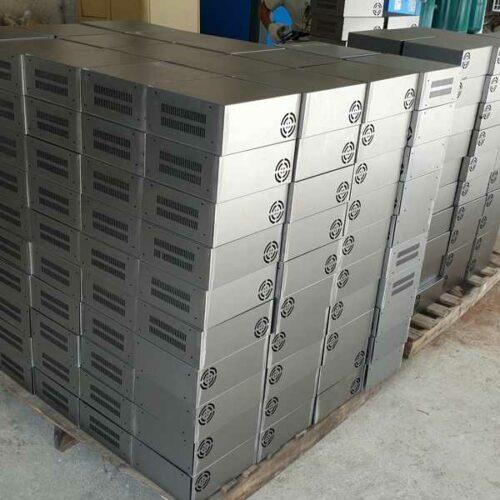 plaatwerk voor productie van elektronica behuizingen
