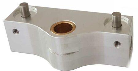 verspanen van aluminium op CNC freesmachines